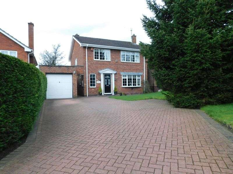 4 Bedrooms Detached House for sale in Wilmore Court, Hopton, Stafford