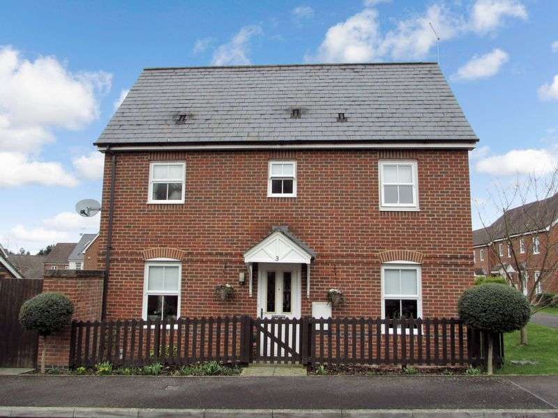 3 Bedrooms Semi Detached House for sale in Rowlock Gardens, Hermitage