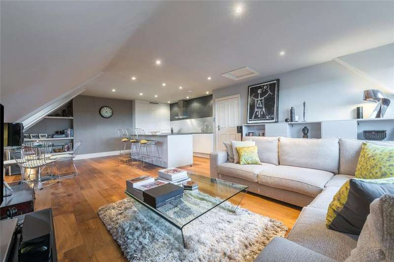 2 Bedrooms Flat for sale in Frognal, Hampstead, London