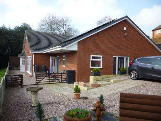 4 Bedrooms Detached Bungalow for sale in AMBLECOTE ROAD, AMBLECOTE, BRIERLEY HILL DY5