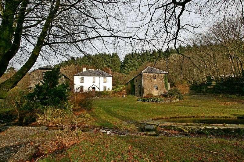 4 Bedrooms Detached House for sale in Rockley House, Brayford, Barnstaple, Devon