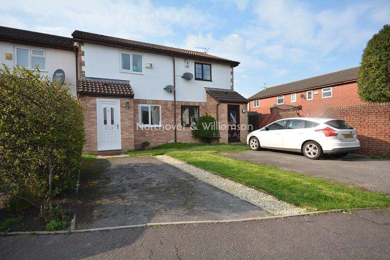 2 Bedrooms Terraced House for sale in Orchid Close, St. Mellons, Cardiff. CF3 0RE