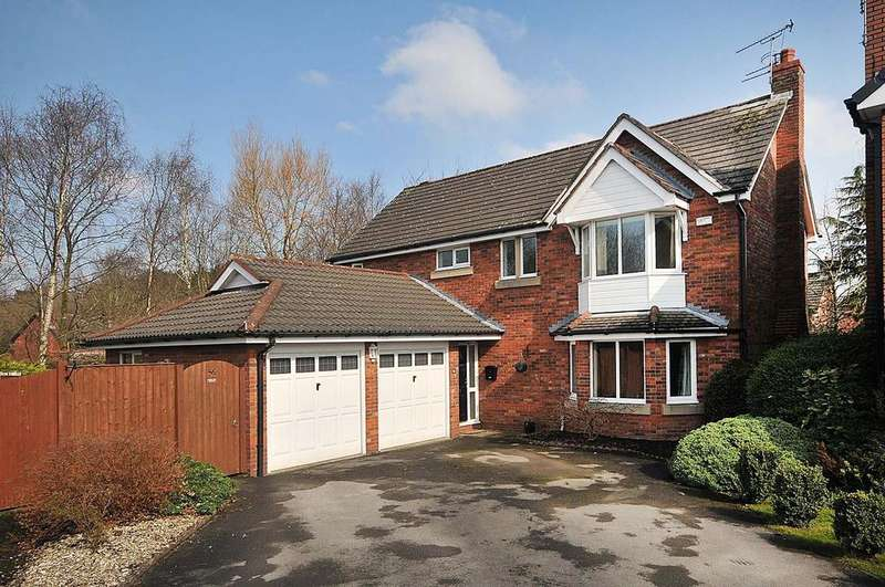 4 Bedrooms Detached House for sale in Hartswood Close, Appleton