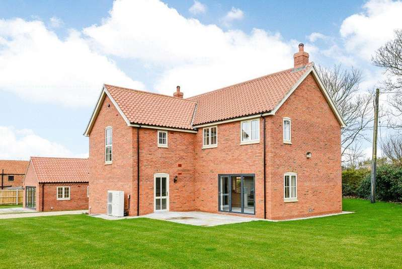 4 Bedrooms Detached House for sale in Oaks House, West Lane, Baumber, Horncastle, LN9