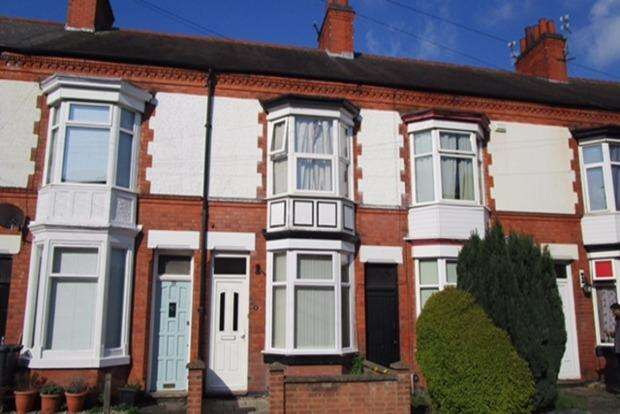 3 Bedrooms Terraced House for sale in Haddenham Road, Leicester, LE3