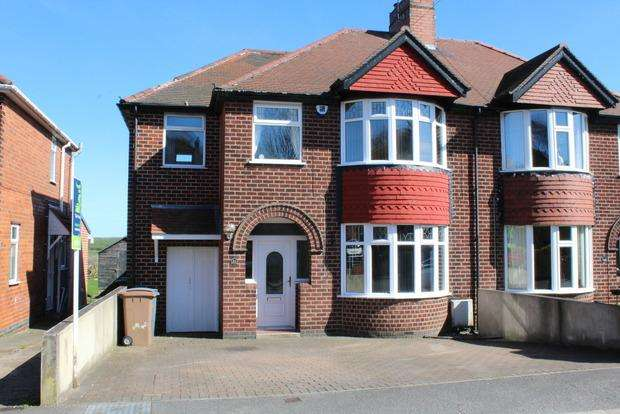 4 Bedrooms Semi Detached House for sale in Cambria Road, Pleasley, Mansfield, NG19