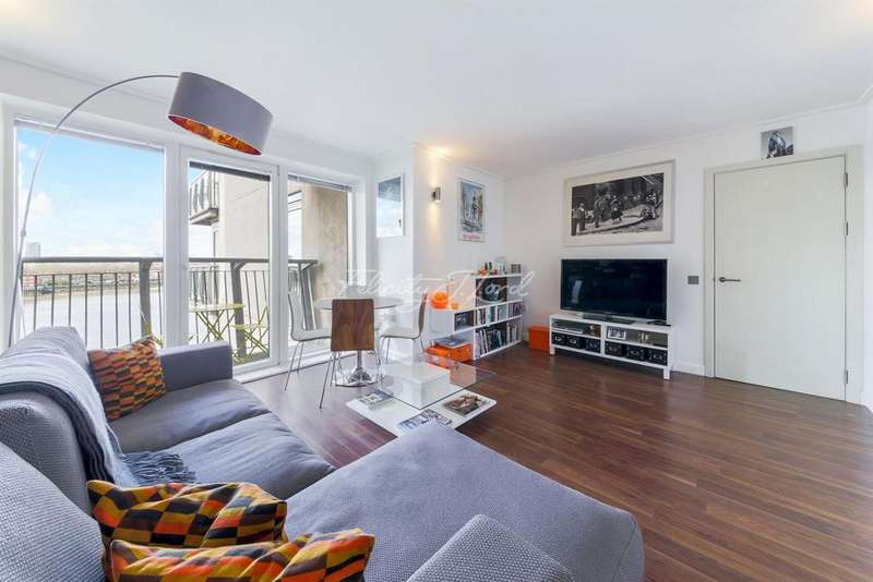 1 Bedroom Flat for sale in Seacon Tower, Canary Wharf, E14