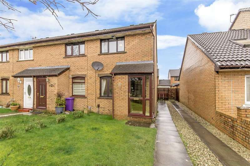 2 Bedrooms End Of Terrace House for sale in 87 Colston Avenue, Bishopbriggs, Glasgow, G64