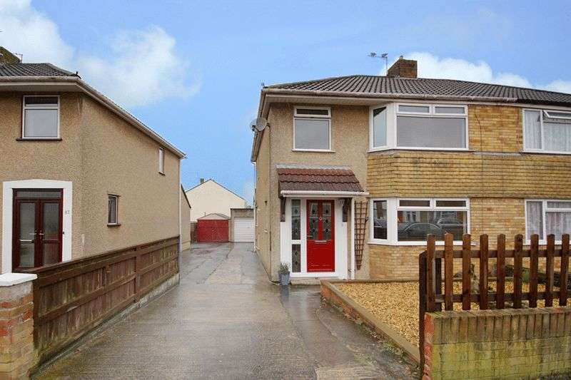 3 Bedrooms Semi Detached House for sale in 85 Milton Road, Yate, Bristol BS37 5ES