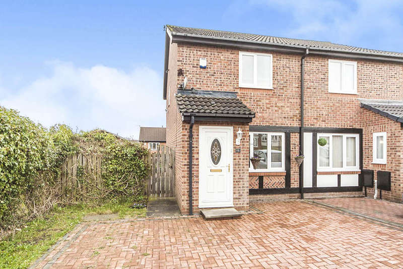 2 Bedrooms Semi Detached House for sale in Perrycrofts, Thristley Wood, Sunderland, SR3