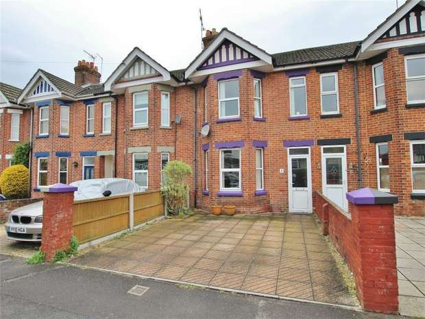 3 Bedrooms Terraced House for sale in Winterbourne Road, POOLE, Dorset