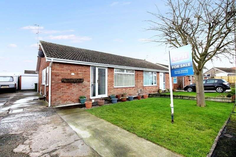 2 Bedrooms Semi Detached Bungalow for sale in Hawson Close, Scarborough