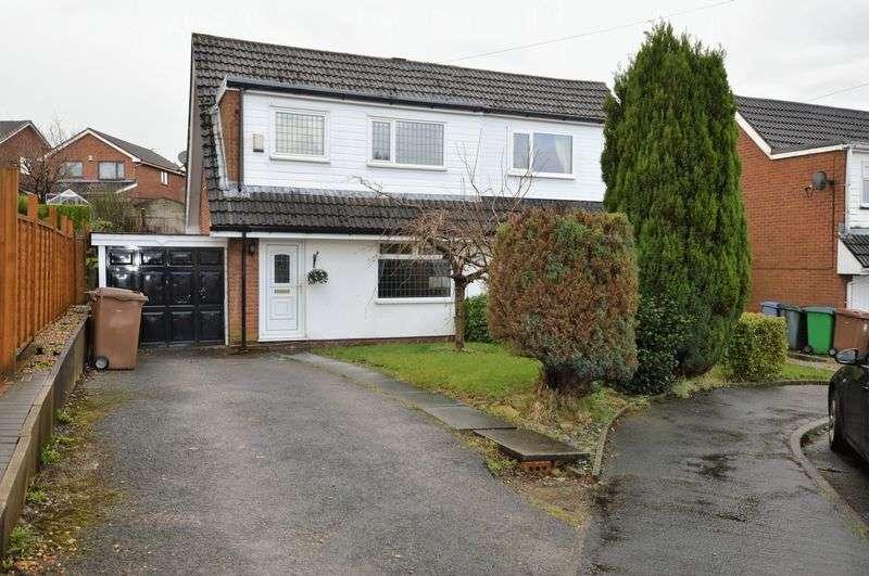 3 Bedrooms Semi Detached House for sale in Croft Head Drive, Rochdale