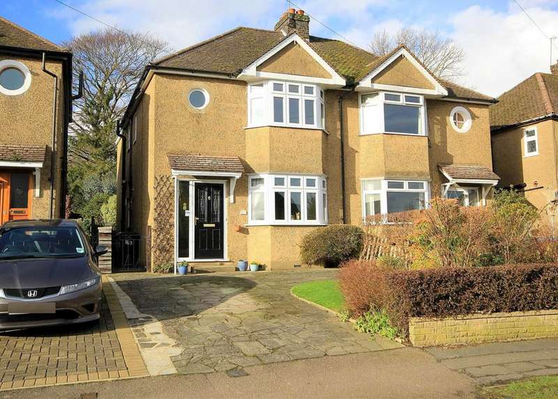 3 Bedrooms Semi Detached House for sale in EXTENDED 3 DOUBLE BEDROOM with OFF ROAD PARKING in BOXMOOR HP1.