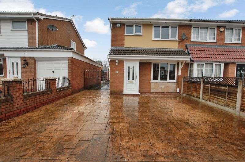 3 Bedrooms Semi Detached House for sale in Hereford Crescent, Bolton