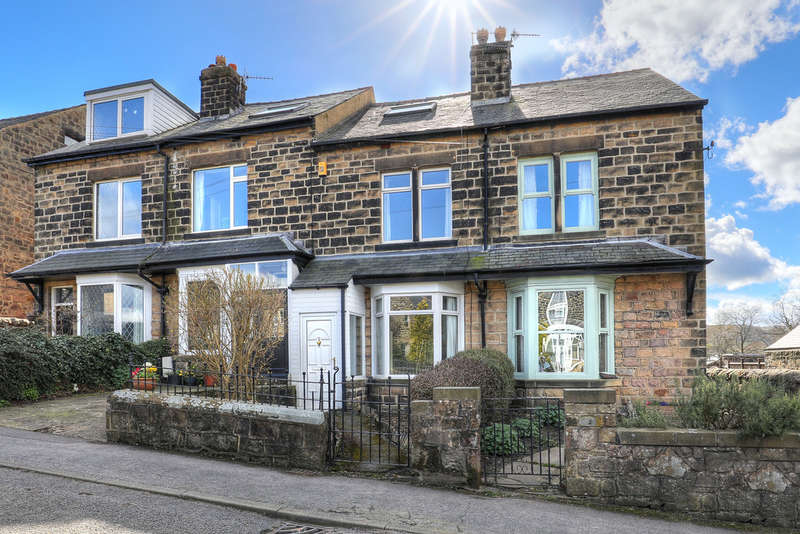 4 Bedrooms Terraced House for sale in Crossland Road, Hathersage, Hope Valley