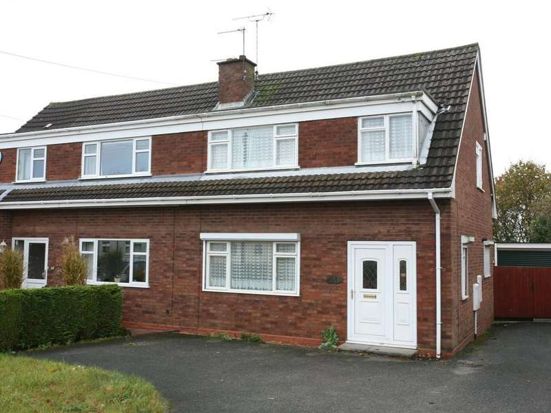 3 Bedrooms Semi Detached House for sale in 139 Greenheath Road, Hednesford, WS12 4AU