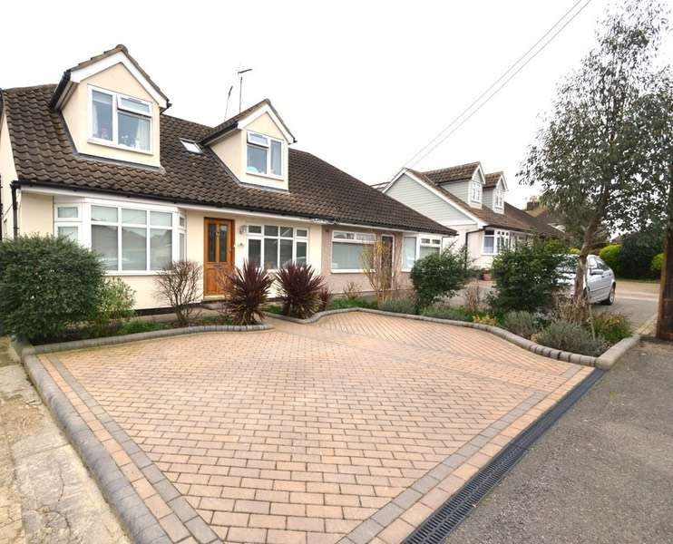 5 Bedrooms Semi Detached House for sale in Southview Road, Hockley, Essex, SS5