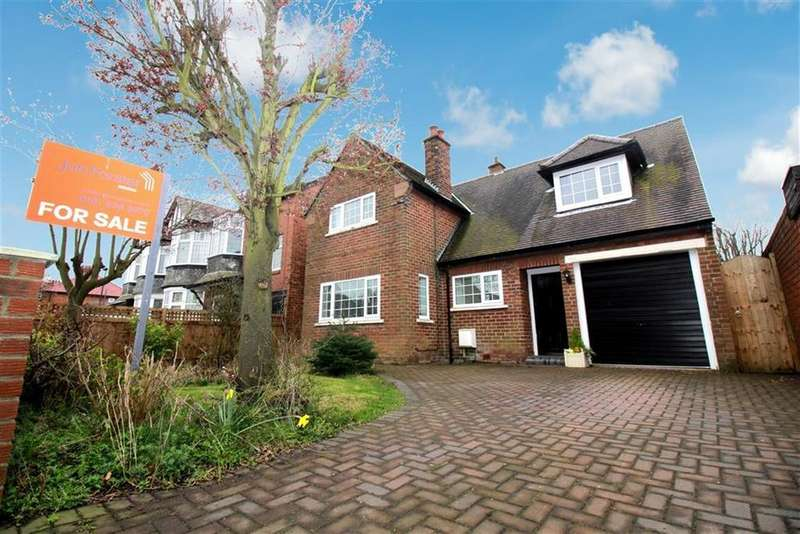 3 Bedrooms Detached House for sale in Polwarth Drive, Newcastle Upon Tyne, NE3