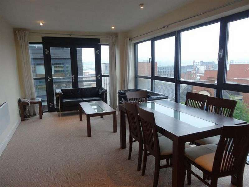2 Bedrooms Apartment Flat for rent in AG1, Furnival Street, Sheffield S1