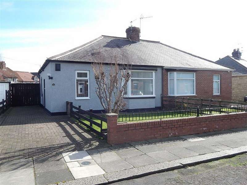 2 Bedrooms Semi Detached Bungalow for sale in Ashwood Crescent, Walkerville, Newcastle Upon Tyne, NE6