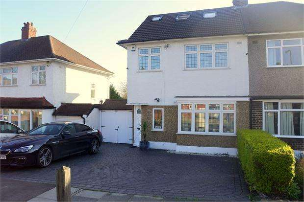 4 Bedrooms Semi Detached House for sale in Arbroath Road, Eltham, London, SE9 6RR