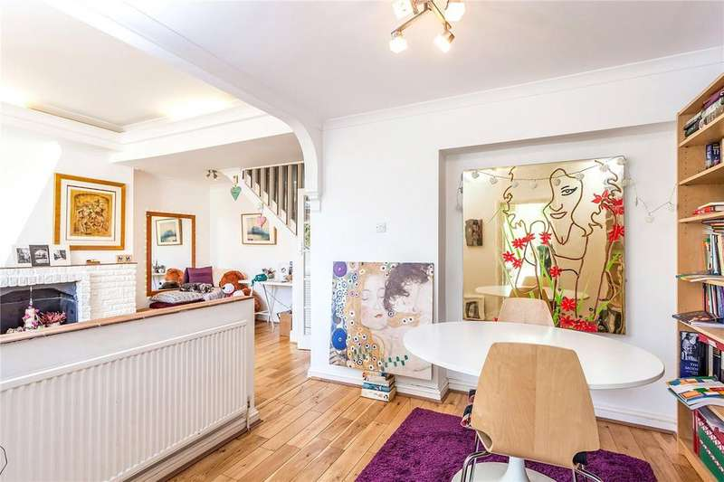 2 Bedrooms Maisonette Flat for sale in Danvers Road, London, N8