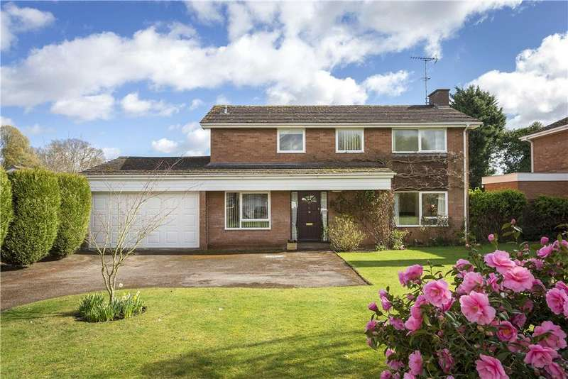 4 Bedrooms Detached House for sale in Myton Gardens, Warwick, CV34