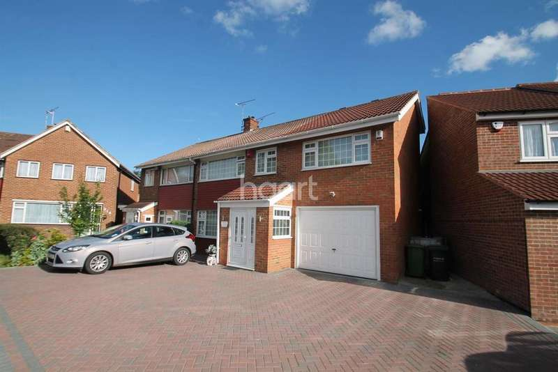 4 Bedrooms Semi Detached House for sale in Beaumont Drive, Northfleet, DA11
