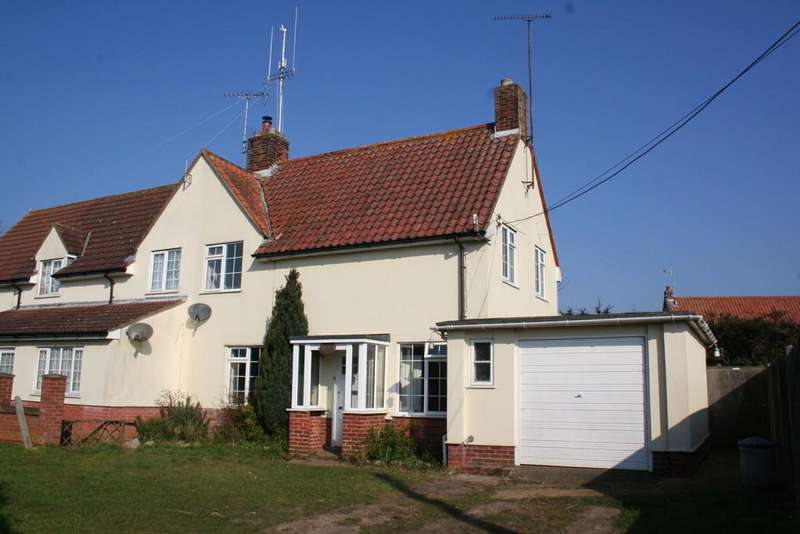3 Bedrooms Semi Detached House for sale in Tunstall, Nr Woodbridge, Suffolk