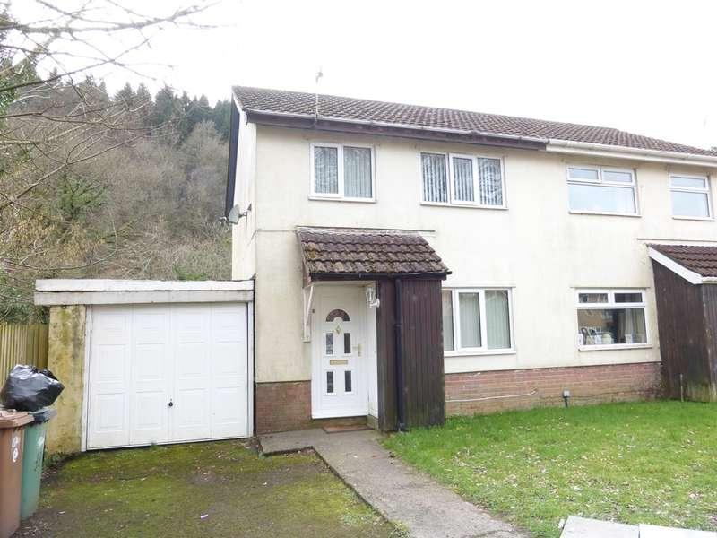 3 Bedrooms Semi Detached House for sale in Dan Y Darren, Llanbradach, Caerphilly