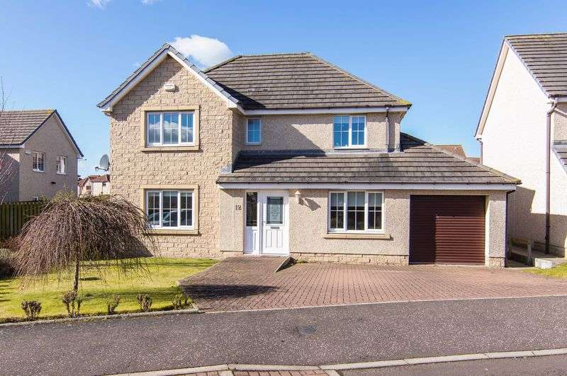 4 Bedrooms Detached House for sale in 12 Laidlaw Gardens, Tranent, East Lothian, EH33 2QH