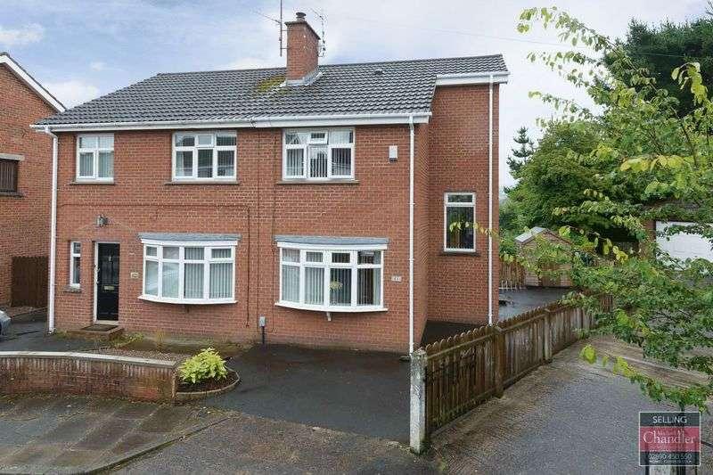 2 Bedrooms Semi Detached House for sale in 64 Vauxhall Park, Belfast, BT9 5HB