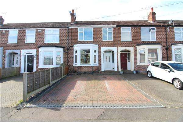 3 Bedrooms Terraced House for sale in Sherlock Road, Chapelfields, Coventry