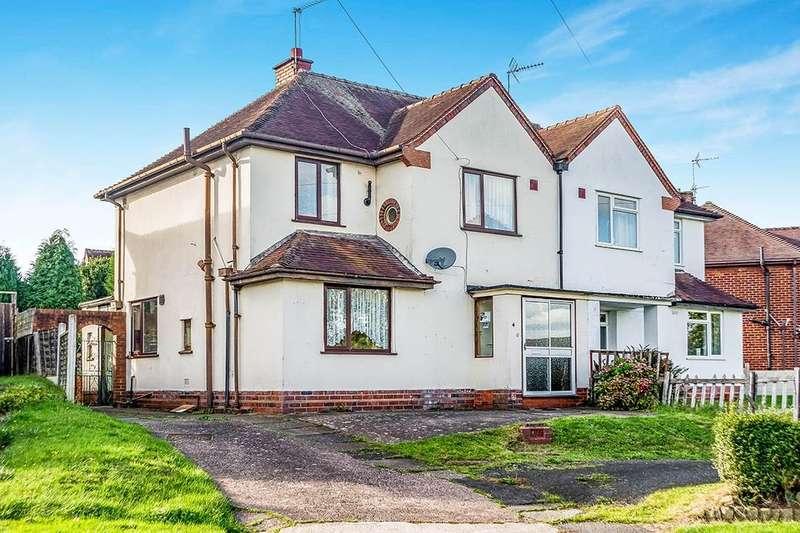 3 Bedrooms Semi Detached House for sale in Princes Road, Norton, Stourbridge, DY8