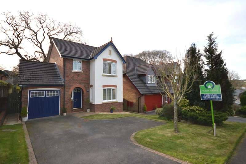 3 Bedrooms Semi Detached House for sale in The Parklands, Cockermouth, CA13