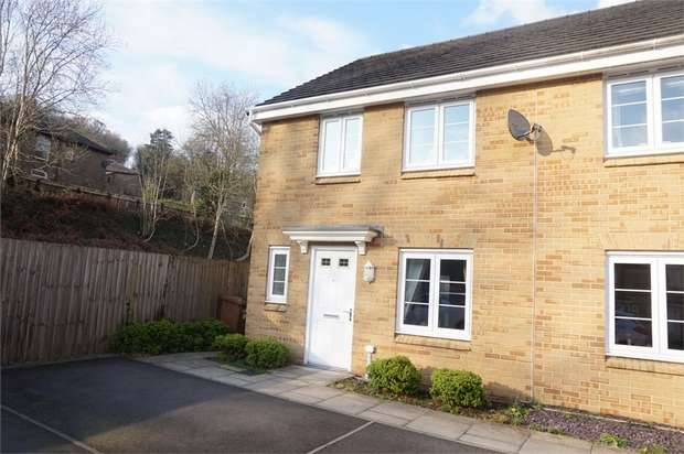 3 Bedrooms Semi Detached House for sale in Mill-Race, Abercarn, NEWPORT, Caerphilly