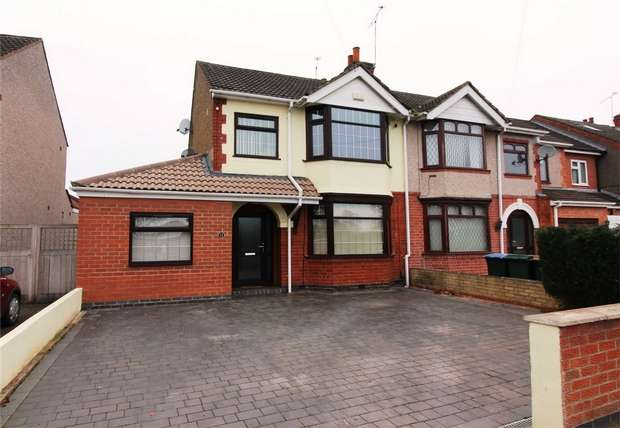 3 Bedrooms Semi Detached House for sale in Halford Lane, Whitmore Park, Coventry