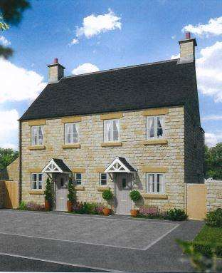 2 Bedrooms Terraced House for sale in Amberley Park, London Road, Tetbury, Glos