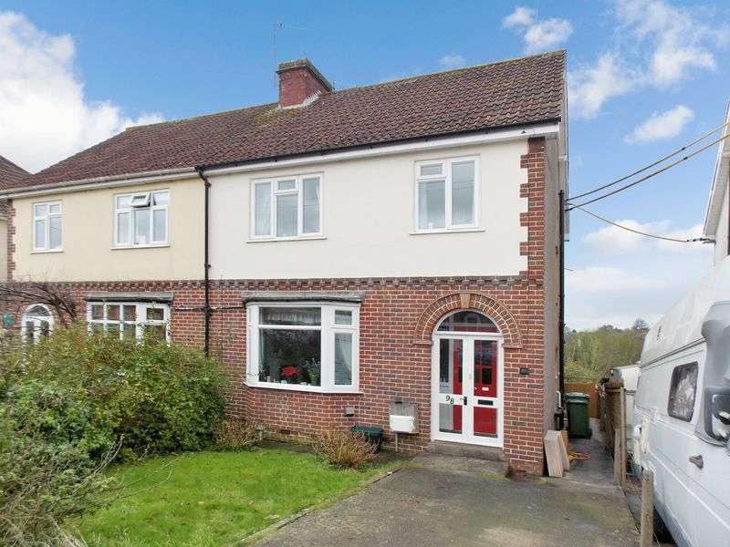 3 Bedrooms Semi Detached House for sale in Rodden Road, Frome