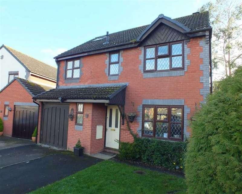 4 Bedrooms Property for sale in Martlet Close, Bowerhill, Melksham, Wiltshire, SN12