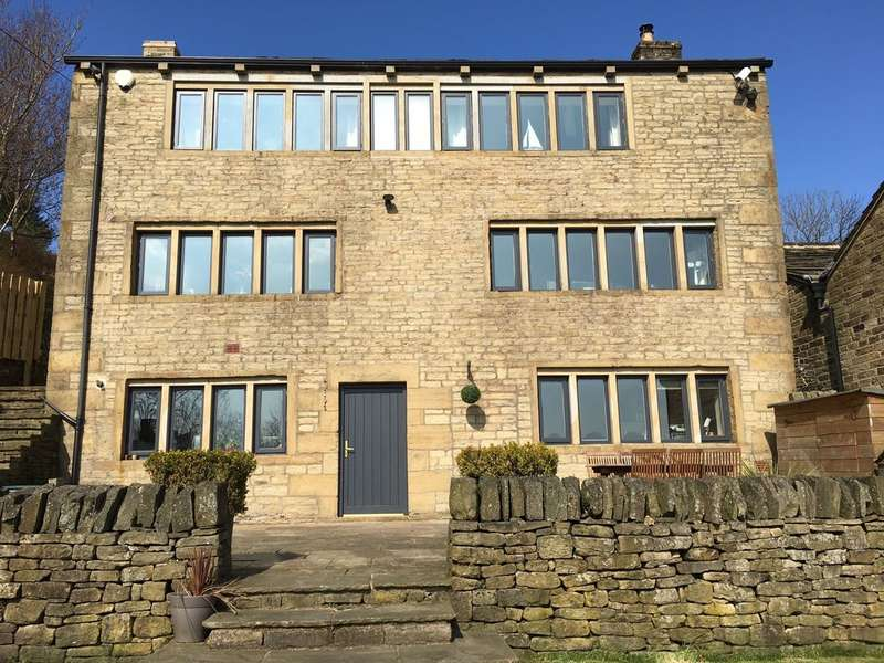 4 Bedrooms Detached House for sale in Crompton Knowl, Crib Lane, Dobcross, Saddleworth