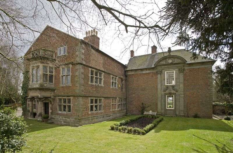 6 Bedrooms Detached House for sale in Bentley Hall, Hungry Bentley, Ashbourne