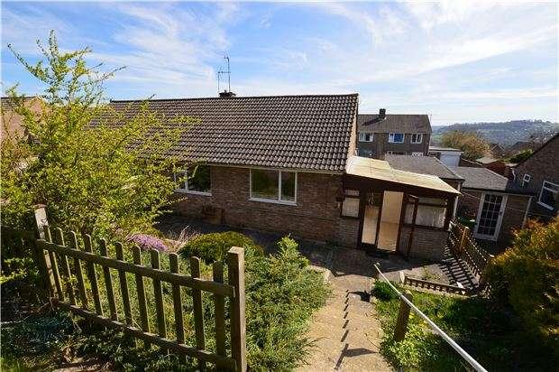 2 Bedrooms Semi Detached Bungalow for sale in Maple Drive, Stroud, Gloucestershire, GL5 4DE