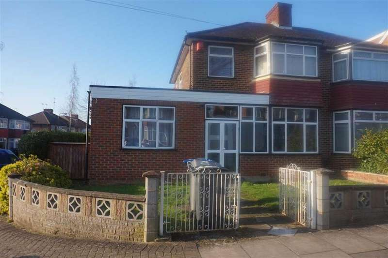 3 Bedrooms Semi Detached House for sale in Girton Avenue, Kingsbury