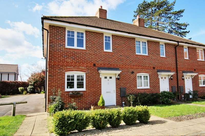 2 Bedrooms Semi Detached House for sale in Chichester Road, Hellingly BN27