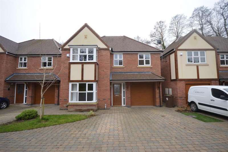 4 Bedrooms Detached House for sale in Woodlands Close, Marston Green, Birmingham
