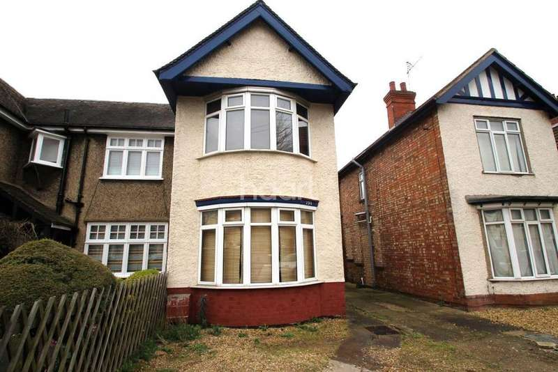 2 Bedrooms Semi Detached House for sale in Dogsthorpe Road, Peterborough