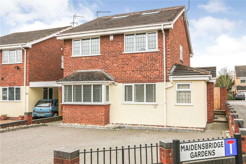 4 Bedrooms Detached House for sale in Maidensbridge Road, Wall Heath, Kingswinford, DY6