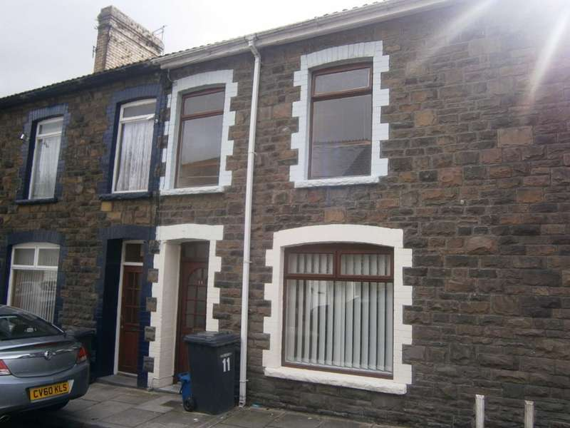 3 Bedrooms Terraced House for sale in Gresham Place, Treharris